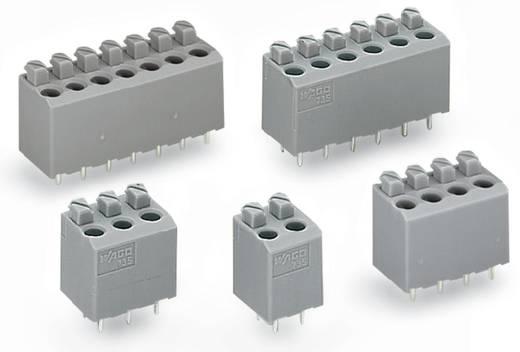 Federkraftklemmblock Polzahl 4 PCB TERMINAL STRIP WAGO Grau 240 St.