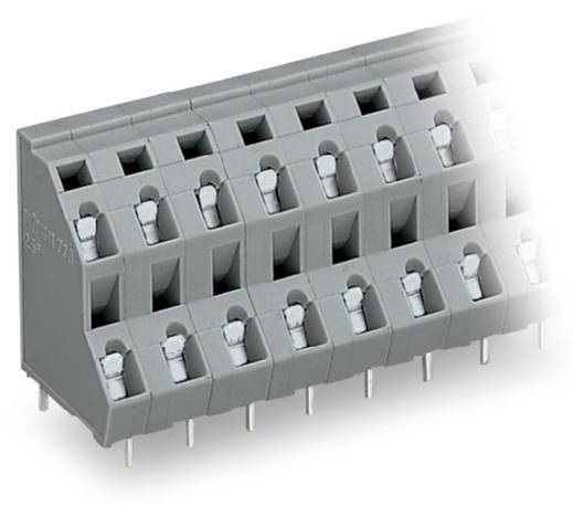 Doppelstockklemme 2.50 mm² Polzahl 4 WAGO Grau 133 St.