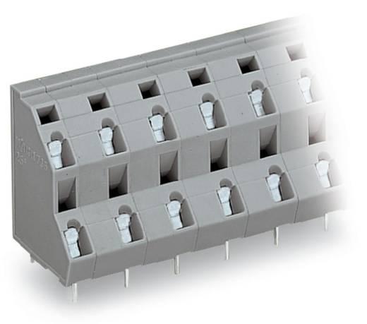 Doppelstockklemme 2.50 mm² Polzahl 4 WAGO Grau 112 St.