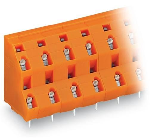 Doppelstockklemme 2.50 mm² Polzahl 8 WAGO Orange 49 St.