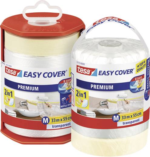 Abdeckfolie tesa Easy Cover® Transparent (L x B) 33 m x 550 mm tesa 57115 1 Rolle(n)