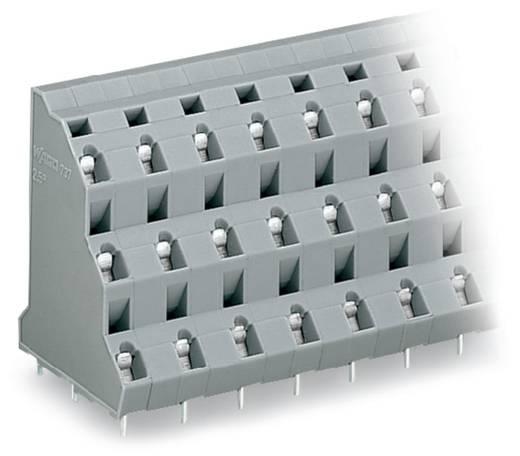 Dreistockklemme 2.50 mm² Polzahl 18 WAGO Grau 16 St.