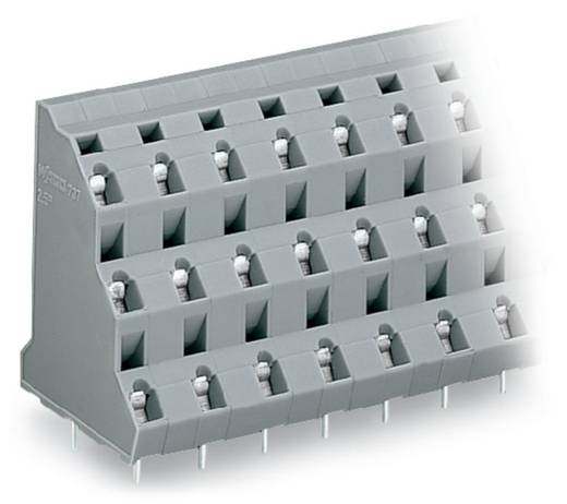 Dreistockklemme 2.50 mm² Polzahl 9 WAGO Grau 40 St.