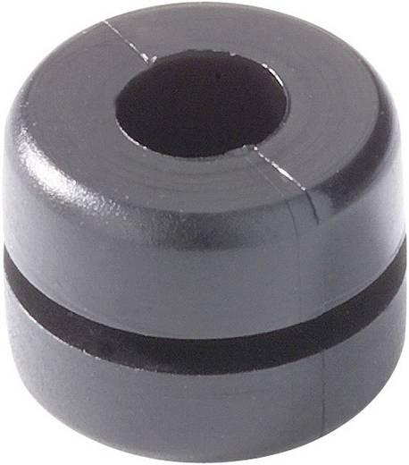 HellermannTyton HV1212-PVC-BK-N1 Kabeldurchführung Klemm-Ø (max.) 4 mm PVC Schwarz 1 St.