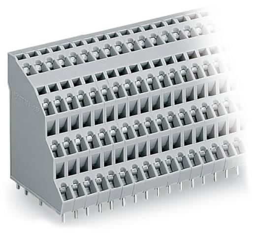 Vierstockklemme 2.50 mm² Polzahl 32 4 DECK PCB TERM 8 POLE 5mm PITCH IN WAGO Grau 18 St.