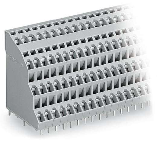 Vierstockklemme 2.50 mm² Polzahl 96 738-224 WAGO Grau 6 St.