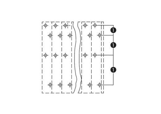 Vierstockklemme 2.50 mm² Polzahl 12 QUADRUPLE DECK PCB WAGO Grau 48 St.