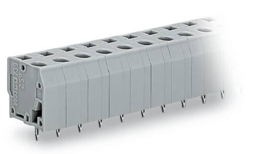 Federkraftklemmblock 2.50 mm² Polzahl 3 739-203/100-000 WAGO Grau 220 St.