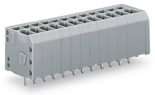 Federkraftklemmblock 1.50 mm² Polzahl 9 WAGO Grau 140 St.