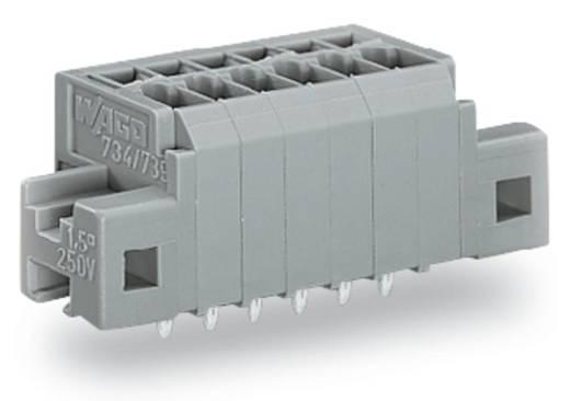 Federkraftklemmblock 1.50 mm² Polzahl 4 WAGO Grau 140 St.