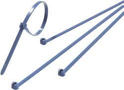 Stahovací pásky s ocelovým pojistkou ABB TY525M-NDT, 186 x 4,8 mm, 100 ks, modré