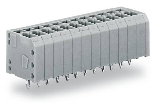 Federkraftklemmblock 1.50 mm² Polzahl 12 739-312/100-000 WAGO Grau 100 St.