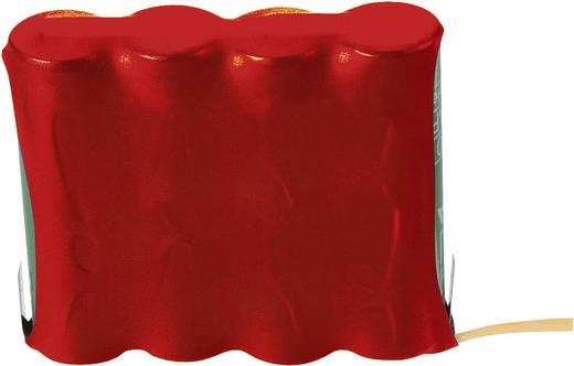 Akkuschrumpfschlauch ohne Kleber Rot, Transparent, Gelb Schrumpfrate:2:1 Conrad Components 544903