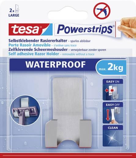 Tesa Powerstrips Waterproof Rasiererhalter Metall 59709 Tesa Inhalt