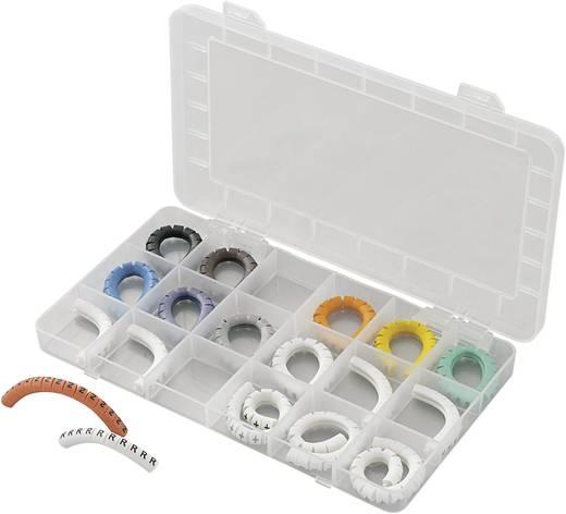 Kennzeichnungsclip Aufdruck 0 - 9, L, N, R, S, T, PE, +, - Außendurchmesser-Bereich 2 bis 5 mm 93013c923 ECMKS-2 Conrad