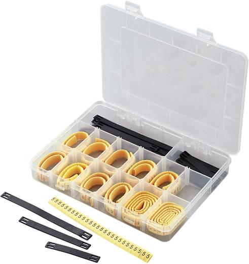 Kennzeichnungsclip Aufdruck 0 - 9, L, N, R, S, T, +, - Außendurchmesser-Bereich 2 bis 5 mm 545005 ECMKS-3 Conrad Compone