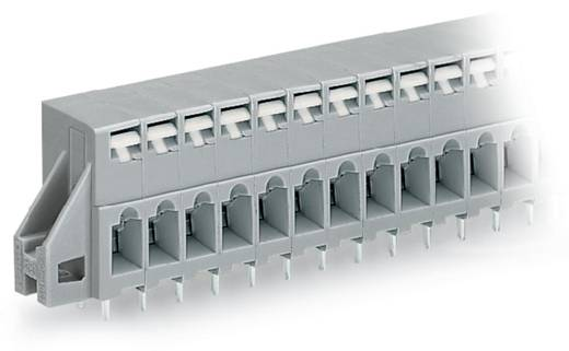 Federkraftklemmblock 2.50 mm² Polzahl 12 741-142 WAGO Grau 60 St.