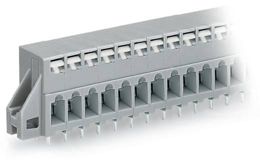 Federkraftklemmblock 2.50 mm² Polzahl 6 741-136 WAGO Grau 100 St.