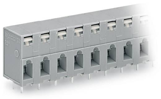 Federkraftklemmblock 2.50 mm² Polzahl 7 741-307 WAGO Grau 80 St.
