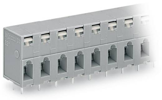Federkraftklemmblock 2.50 mm² Polzahl 9 741-309 WAGO Grau 60 St.