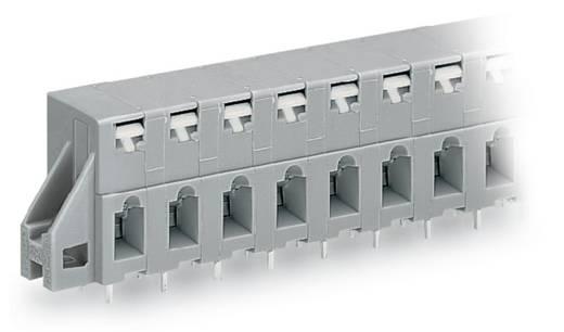Federkraftklemmblock 2.50 mm² Polzahl 3 741-323 WAGO Grau 140 St.