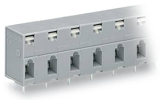 Federkraftklemmblock 2.50 mm² Polzahl 6 741-506 WAGO Grau 80 St.