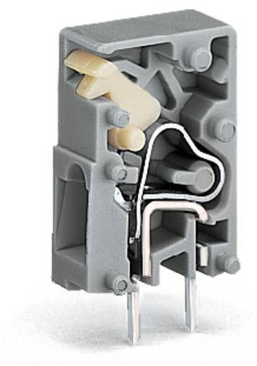 Federkraftklemmblock 2.50 mm² Polzahl 1 741-904 WAGO Grau 1000 St.
