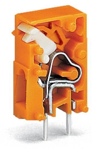 Federkraftklemmblock 2.50 mm² Polzahl 1 WAGO Orange 1000 St.