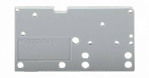 Abschlussplatte Grau WAGO 742-150 Inhalt: 300 St.
