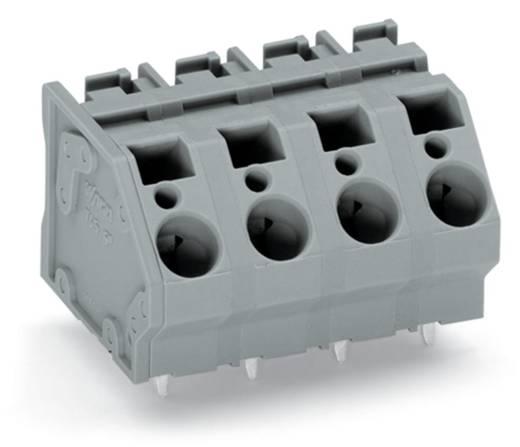 Federkraftklemmblock 6.00 mm² Polzahl 7 745-1357 WAGO Grau 24 St.