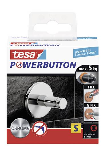 tesa® Powerbutton Universal (Ø x T) 32 mm x 28 mm 59320 TESA Inhalt: 1 St.
