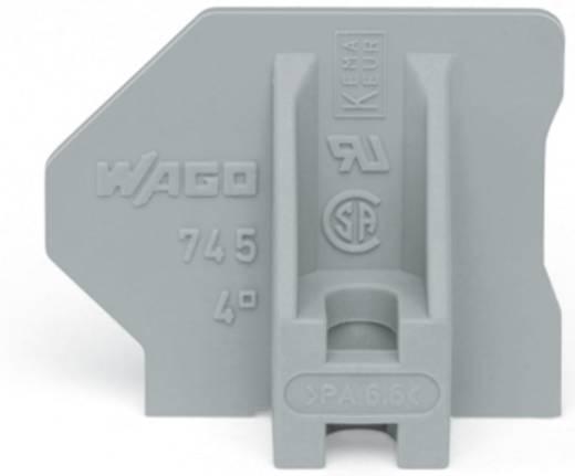 Endplatte WAGO Grau 100 St.