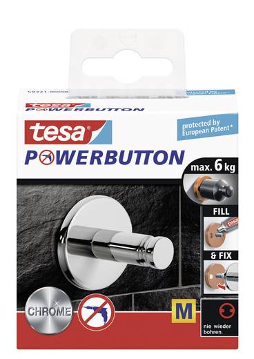 tesa® Powerbutton Universal (Ø x T) 36 mm x 35 mm 59321 tesa Inhalt: 1 St.