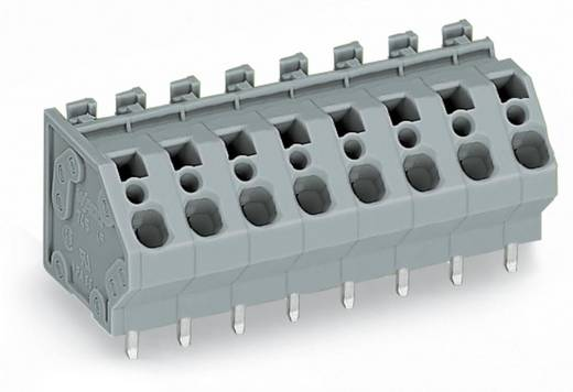Federkraftklemmblock 4.00 mm² Polzahl 10 GDS-HOCHSTROMKL. 4 QMM RM 7,5 10-P. WAGO Grau 30 St.