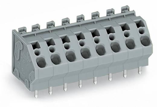 Federkraftklemmblock 4.00 mm² Polzahl 6 WAGO Grau 60 St.