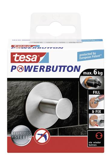 tesa® Powerbutton Classic (Ø x T) 50 mm x 31 mm 59330 TESA Inhalt: 1 St.