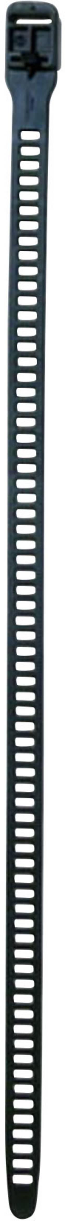 Serre-câbles 28 mm x 580 mm noir HellermannTyton 115-28590 sans crantage 3 pc(s)