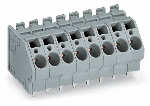 Federkraftklemmblock 6.00 mm² Polzahl 12 745-312 WAGO Grau 16 St.