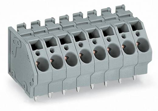 Federkraftklemmblock 6.00 mm² Polzahl 4 745-304 WAGO Grau 64 St.