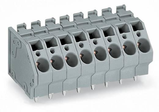 Federkraftklemmblock 6.00 mm² Polzahl 7 WAGO Grau 40 St.