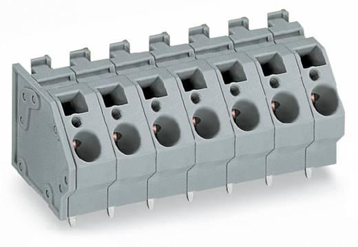 Federkraftklemmblock 6.00 mm² Polzahl 8 745-358 WAGO Grau 24 St.