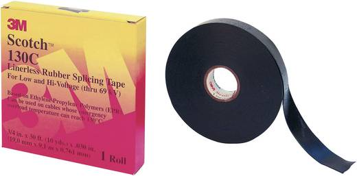 Reparaturband Scotch® 130C Schwarz (L x B) 9 m x 19 mm 3M 7000006085 1 Rolle(n)