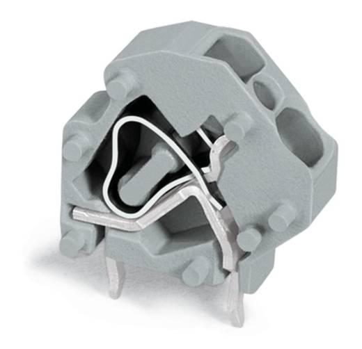 Federkraftklemmblock 4.00 mm² Polzahl 1 WAGO Licht-Grau 200 St.