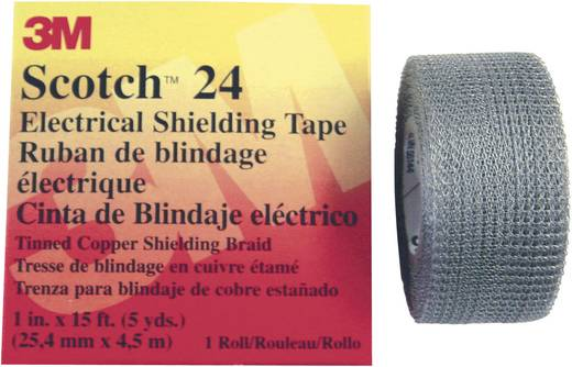 Abschirmband Scotch® 24 (L x B) 4.5 m x 25 mm 3M 80-0120-2401-6 1 Rolle(n)