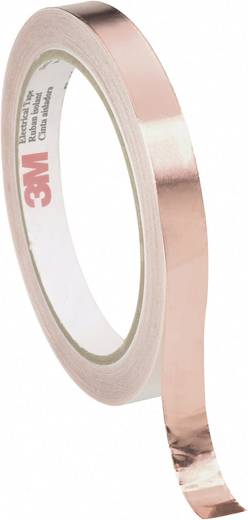 Abschirmband Scotch® 1181 Kupfer (L x B) 16.5 m x 15 mm 3M 118115 1 Rolle(n)
