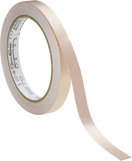 Abschirmband Scotch® 1245 Kupfer (L x B) 16.5 m x 6 mm 3M 12456 1 Rolle(n)