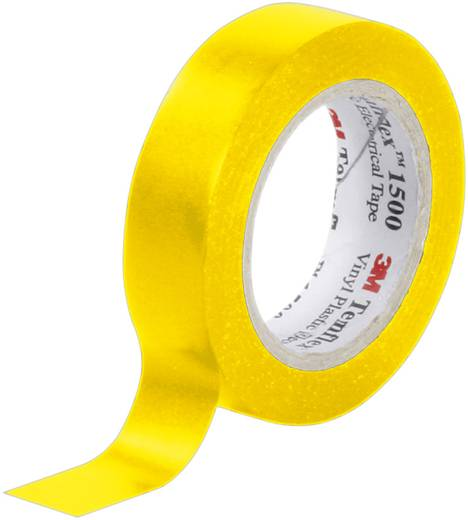 Isolierband 3M Temflex 1500 Gelb (L x B) 10 m x 15 mm Inhalt: 1 Rolle(n)