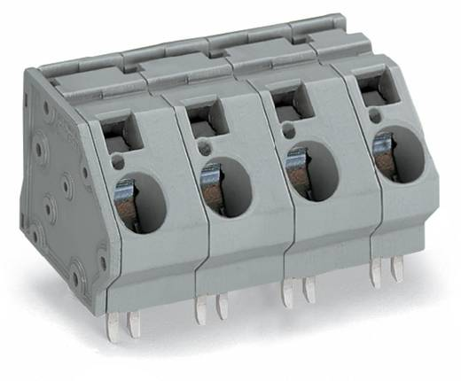 Federkraftklemmblock 16.00 mm² Polzahl 4 WAGO Grau 16 St.