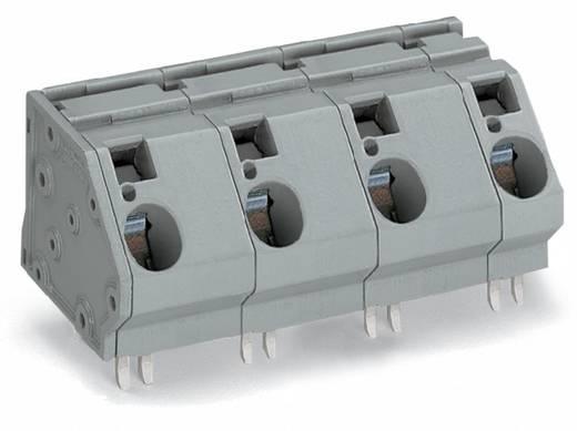 Federkraftklemmblock 16.00 mm² Polzahl 5 WAGO Grau 8 St.