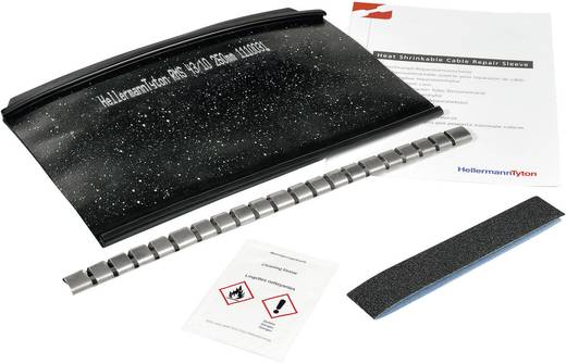 Warmschrumpf-Verbindungsgarnitur ohne Schraubverbinder HellermannTyton 450-20002 RMS-43/10-1000-POX-BK Inhalt: 1 Set